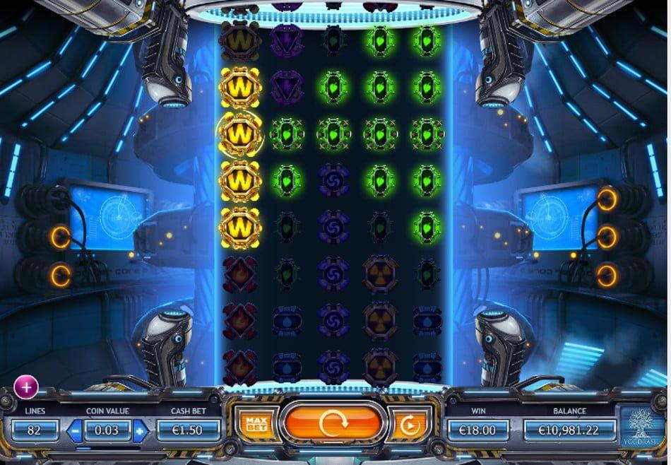 power plant slot by yggdrasil