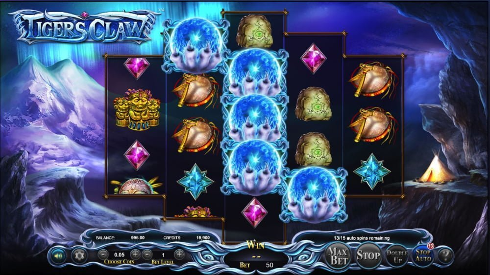 tigers claw slot by betsoft