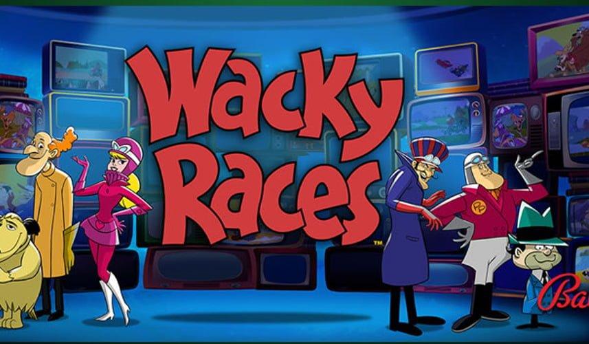 wacky races slot by bally