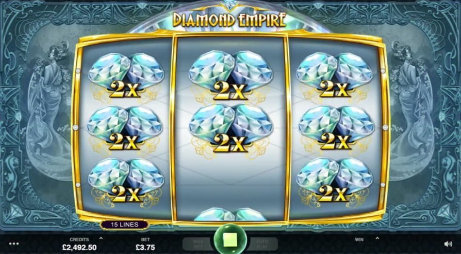 diamond empire slot by microgaming