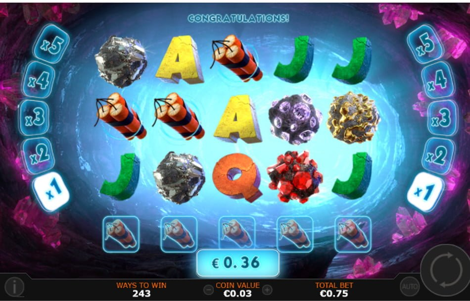 gem burst slot by playtech