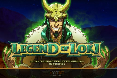 legend of loki slot by isoftbet