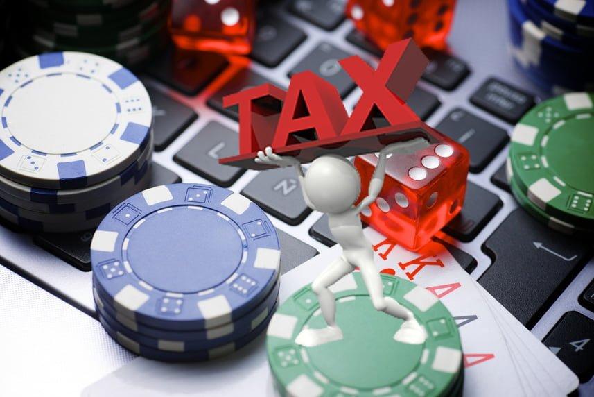 online casino tax questions
