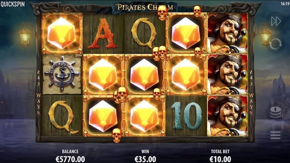 pirates charm slot by quickspin