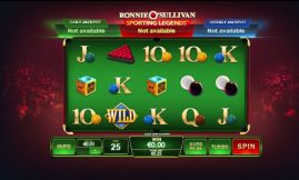 ronnie sulivian slot by playtech