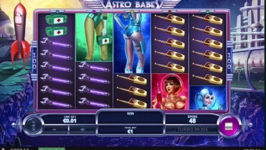 astro babes slot by playtech
