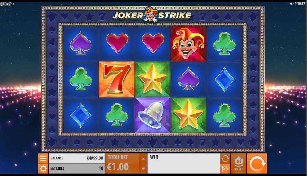 joker strike slot by betsoft