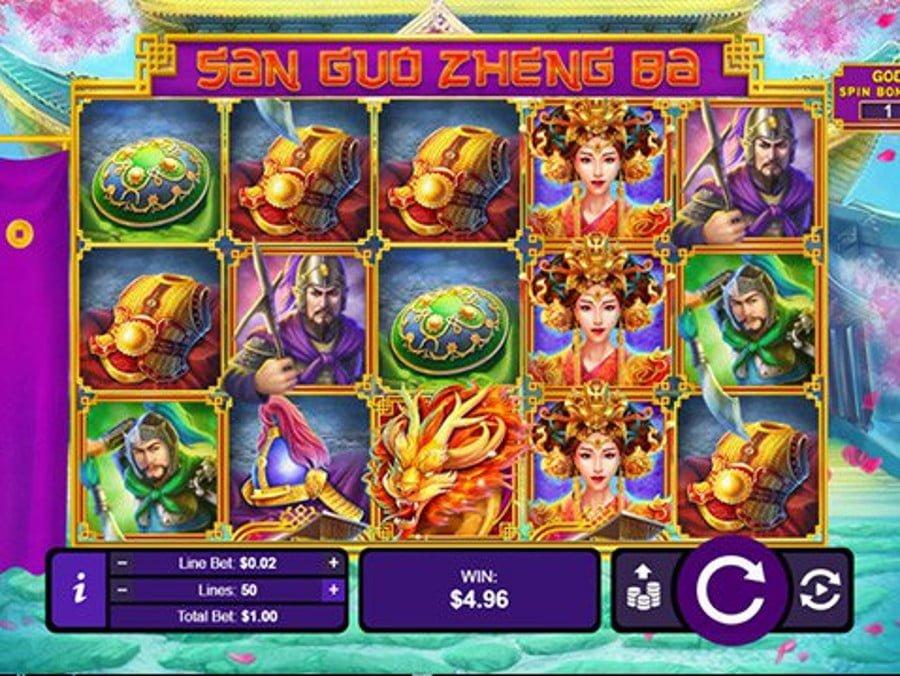 san guo zheng slot by rtg