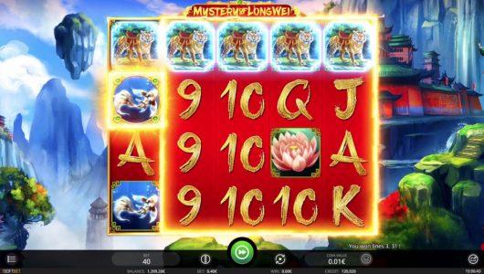 Mystery of LongWei slot by id¡softbet