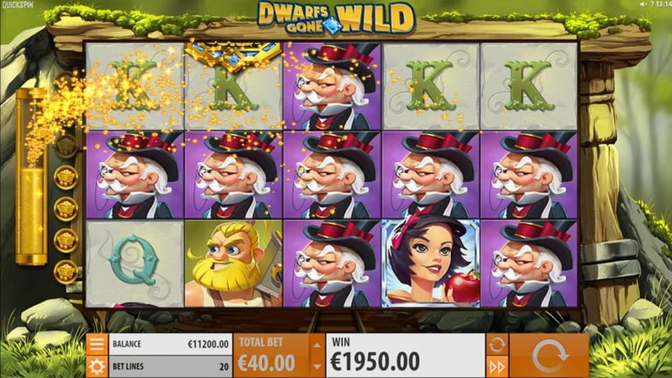 dwarfs gone wild slot by quickspin