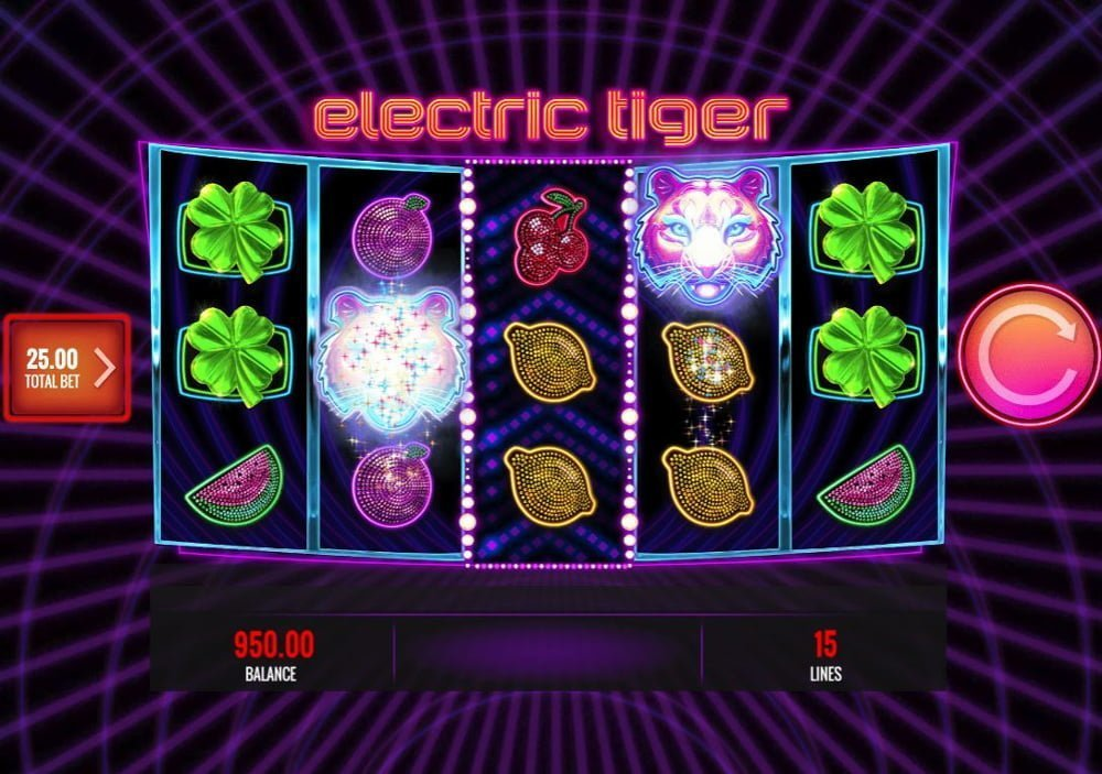 electric tiger slot by igt