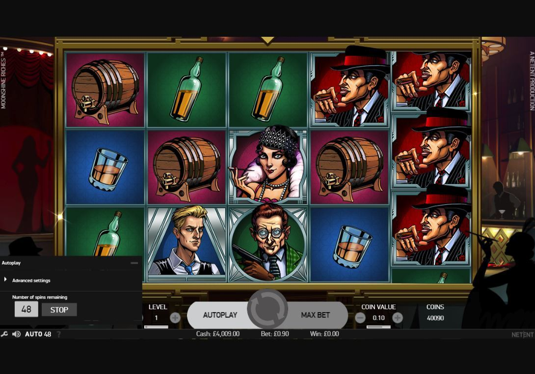moonshine riches slot