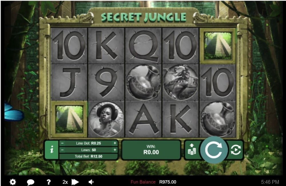 secret jungle slot by rtg