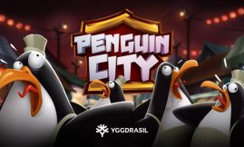 penguin city slot by yggdrasil