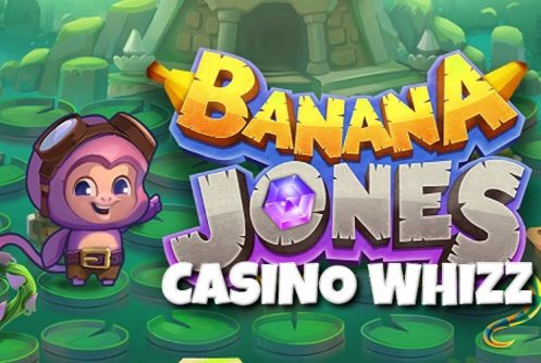 banana jones slot by realtime gaming RTG