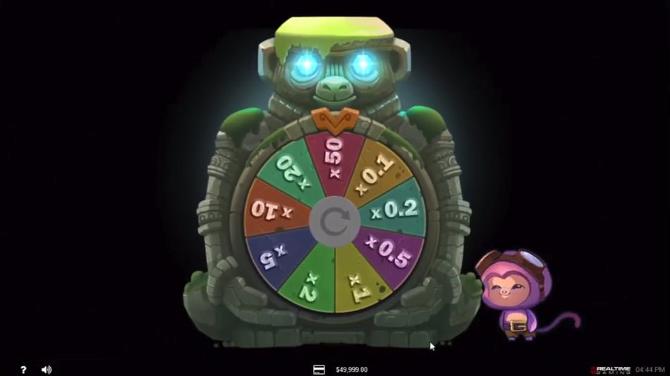 banana jones slot by realtime gaming RTG
