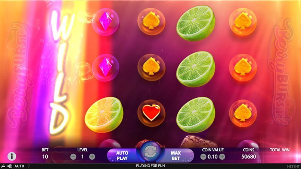 berryburst slot by netent
