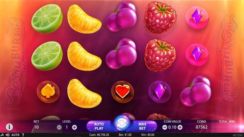 berryburst slot by netent