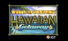 wheel of fortune hawaiian getaway slot by igt