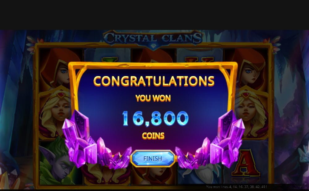 crystal clans slot by isoftbet