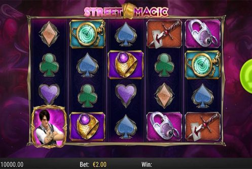 street magic slot by play n go