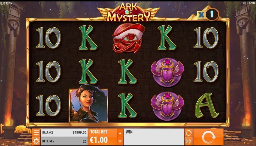 ark of mystery slot by quickspin