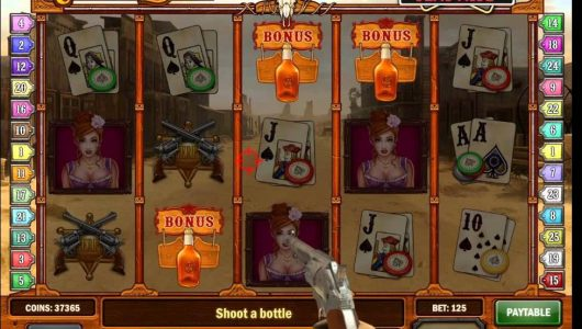 gunslinger reloaded slot by play n go