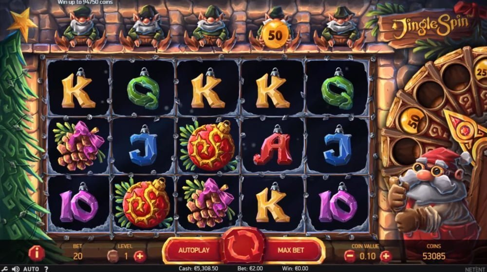 tips best christmas themed slots december 2018 of the free spin