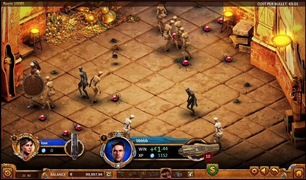 max quest wrath of ra slot by betsoft