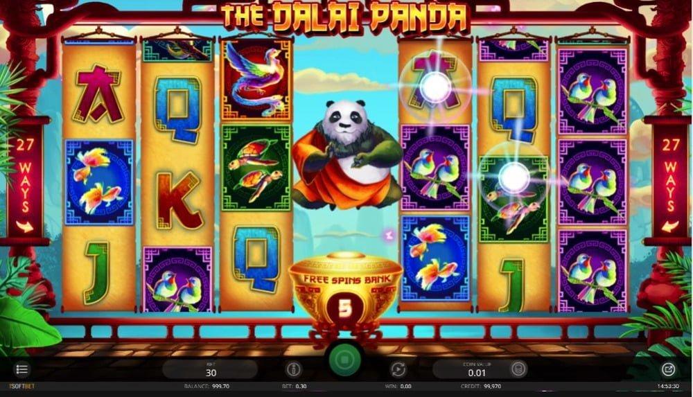 the dali panda slot by isoftbet