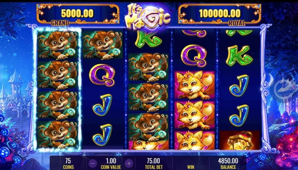 its magic slot by igt