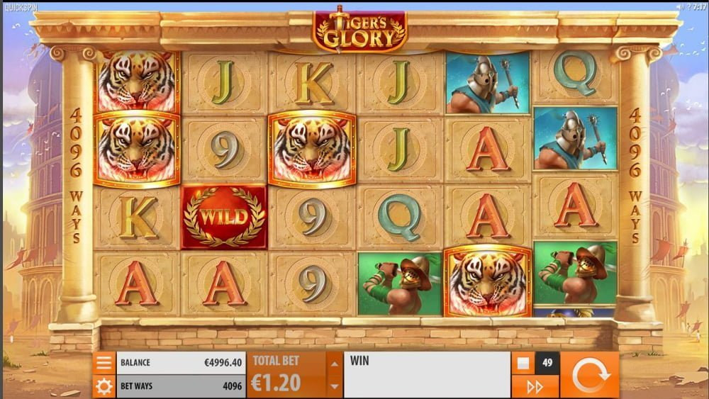 tigers glory slot by quickspin