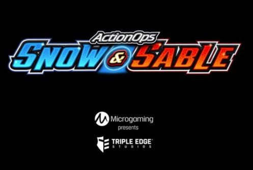 action ops snow sable slot by microgaming