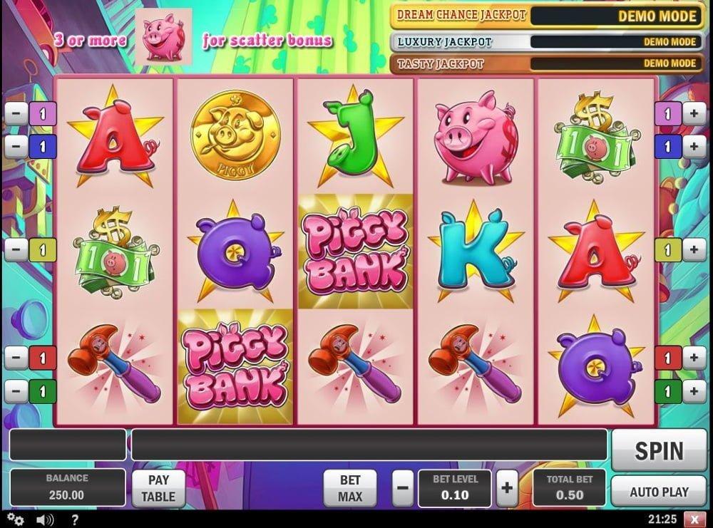 piggy bank slot by play n go