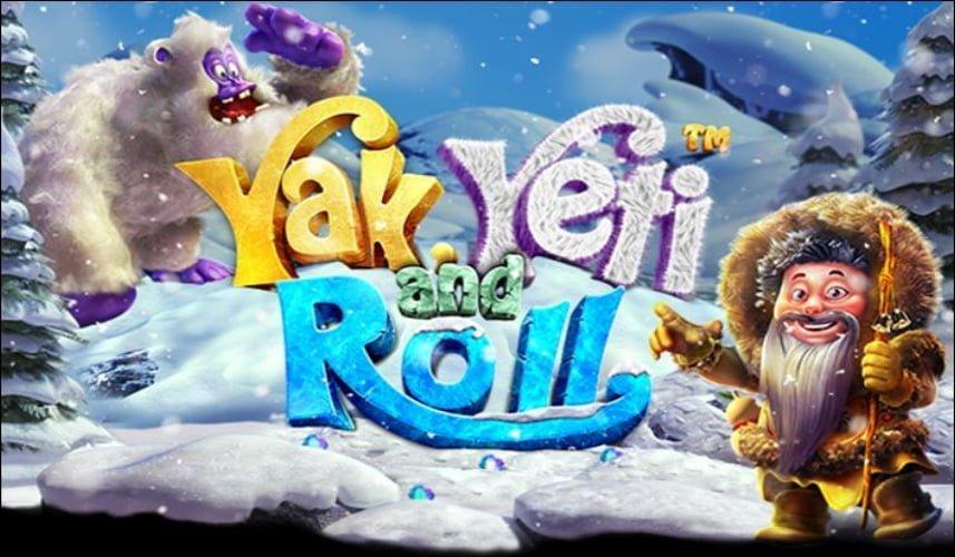 yak yeti and roll slot by betsoft