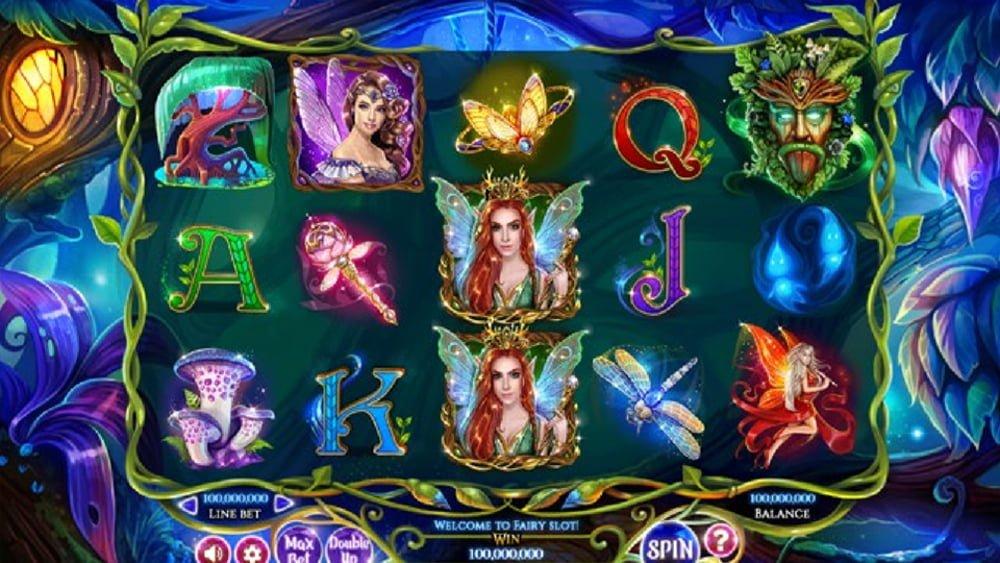 faerie spells slot by betsoft
