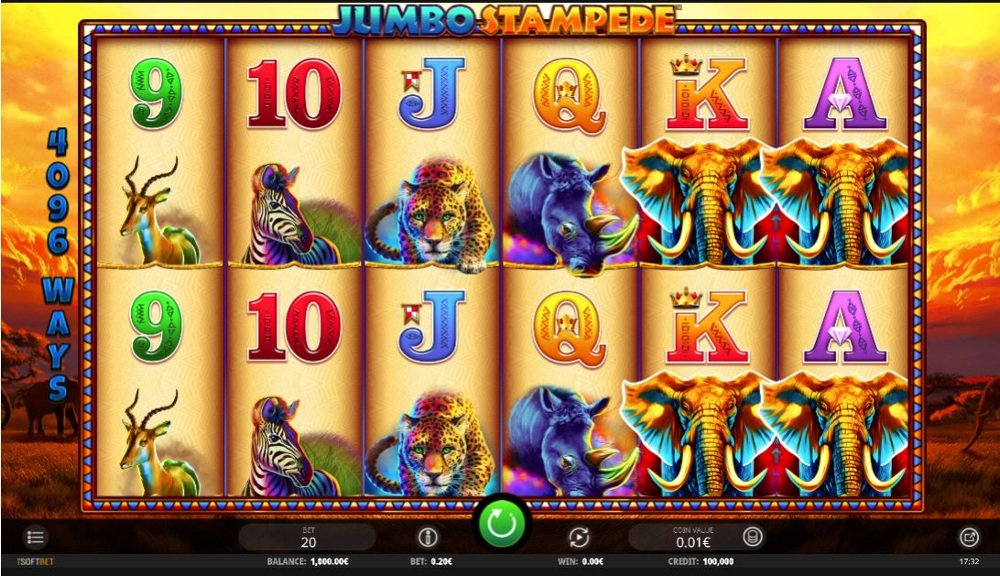 Jumbo Stampede Slot Review