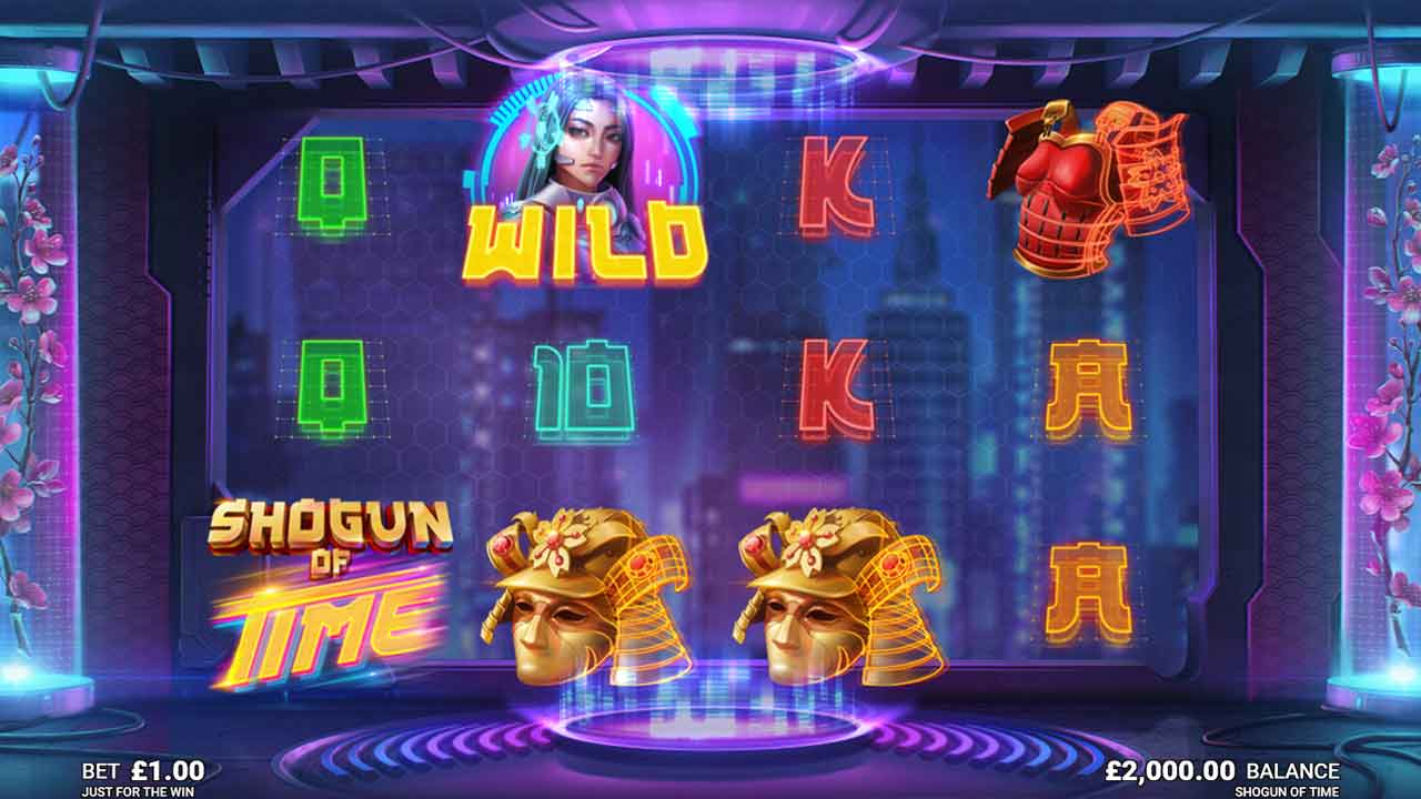 shogun of time slot by microgaming