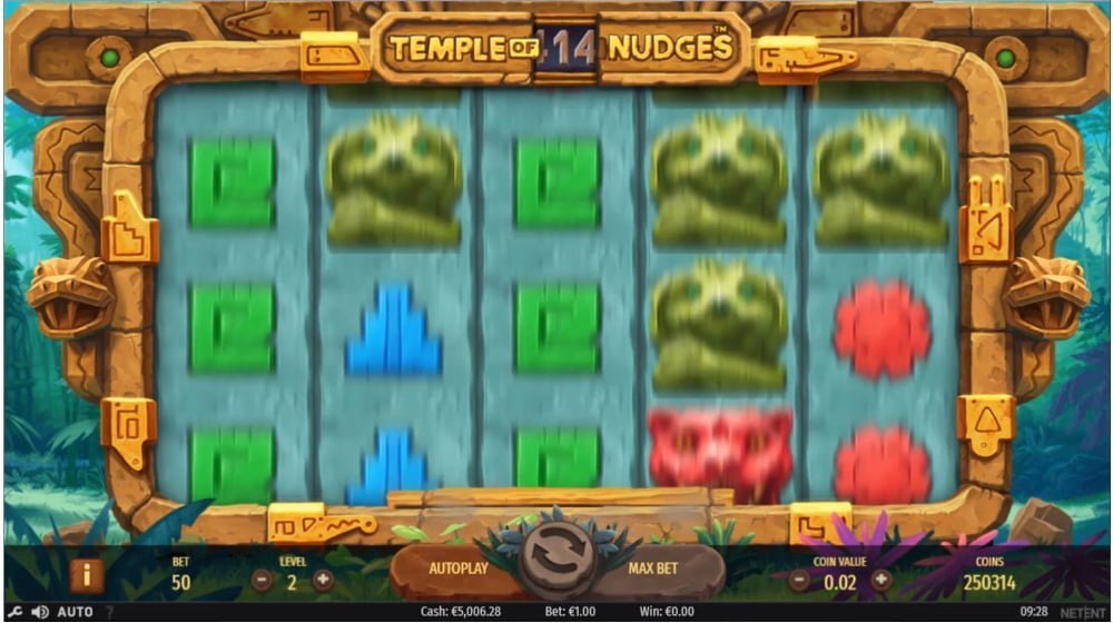 temple of nudges lot by netent