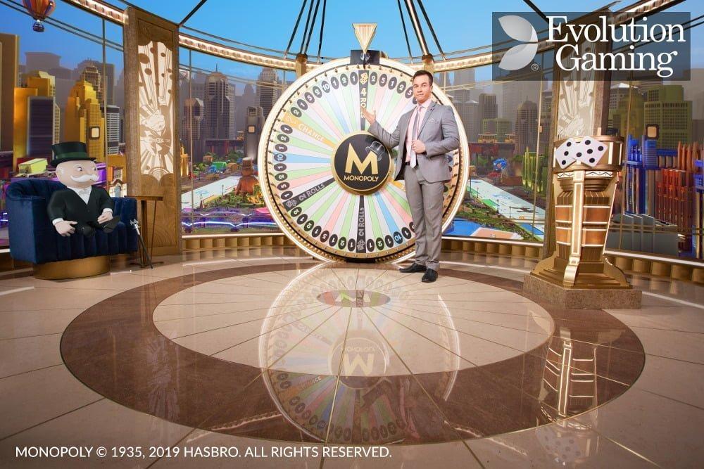 monopoly live casino game dream catcher edition