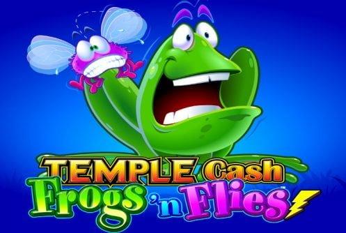 temple cash frogs flies