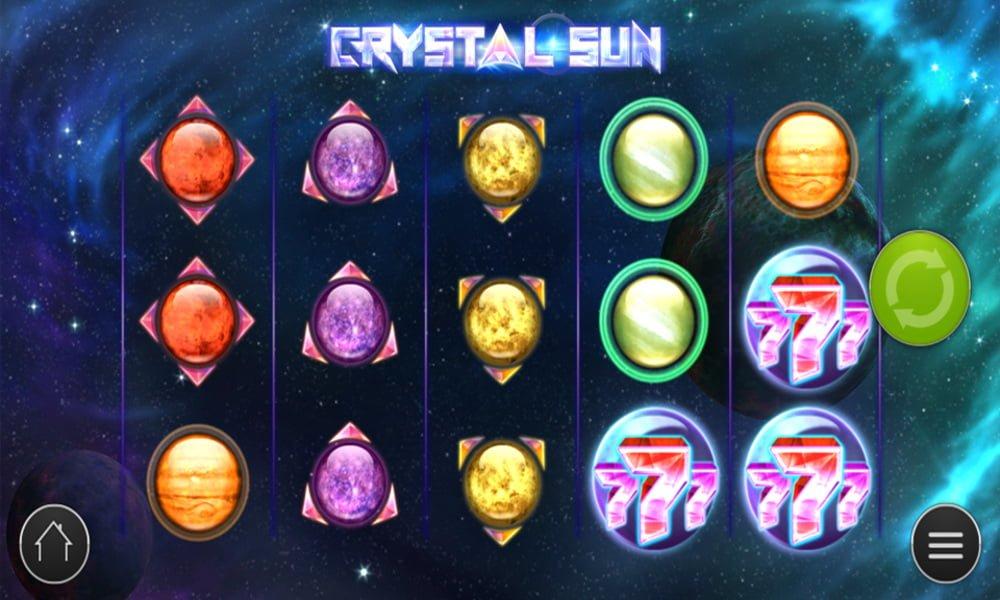 crystal sun slot by play n go