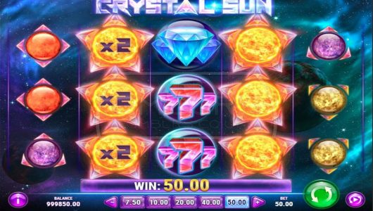 crystal sun slot by play n go