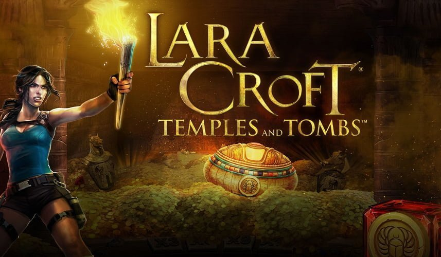 lara croft temple tombs slot by microgaming