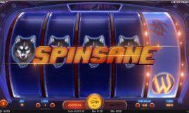 spinsane slot by netent