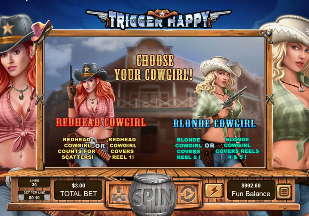 trigger happy slot by rtg