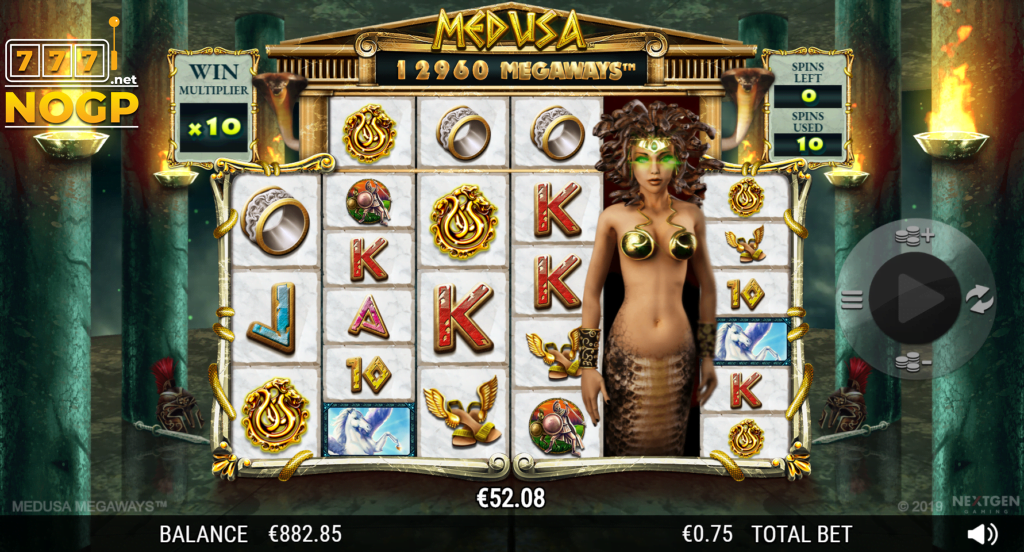 medusa megaways slot by nextgen