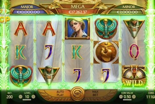 mercy of the gods slot by netent