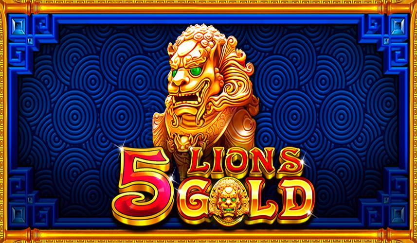 5 lions slot by pragmatic play