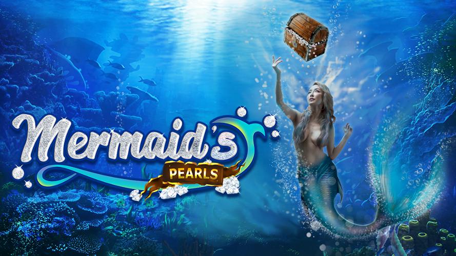 mermaids pearl slot by rtg